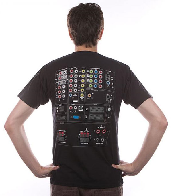 av connector tshirt