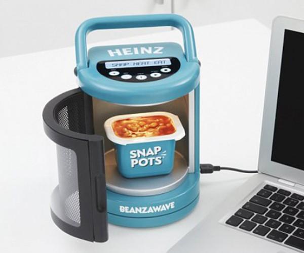 Beanzawave USB Portable Microwave Heatz Your Beanz and Drinkz