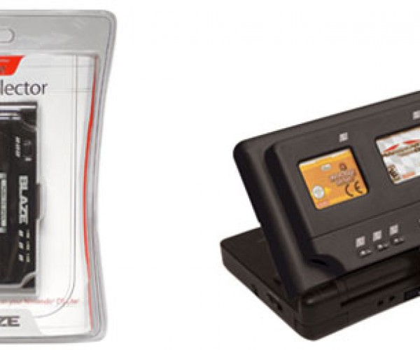 Blaze 3-in-1 Selector Lets You Switch Nintendo Ds Lite Games on the Go