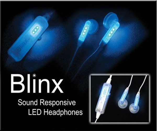 Blinx Sound Responsive Light-Up Headphones Will Make You Look Like a Total Dweeb