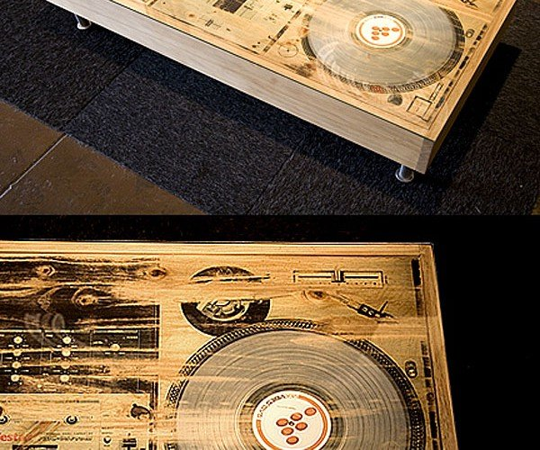 Bughouse Scratch Dj Coffee Table Won'T Play Your Records