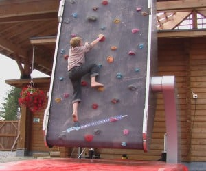 Climbstation Endless Rock Climbing Wall Makes My Arms, Legs and Wallet Hurt Just Looking at It
