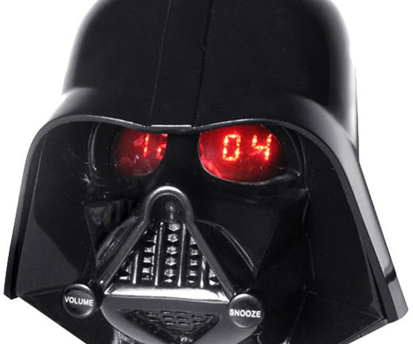 Darth Vader Alarm Clock Radio: Snooze the Force, Luke!