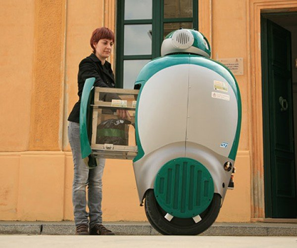 Dustbot Trash Collector: the Roomba'S Big Big Brother