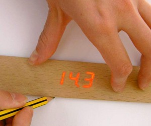 Wooden Electronic Ruler Will Make You Want to Measure Stuff