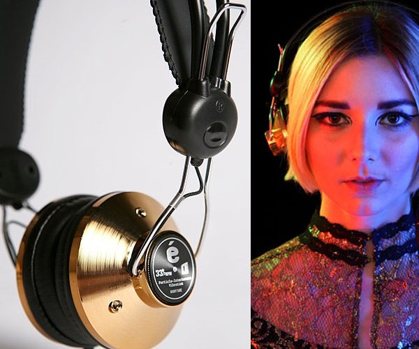 Eskuché 33 and 1/3 Headphones Offer Retro-Future-Licious Sound and Style