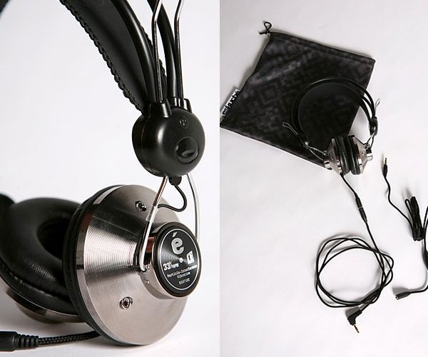Eskuche_Headphones_Silver