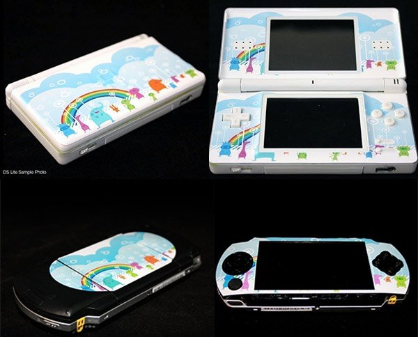 Floral Nintendo Ds and Psp Vinyl Skins