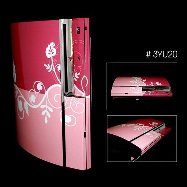 Floral Sony PS3 Vinyl Skin