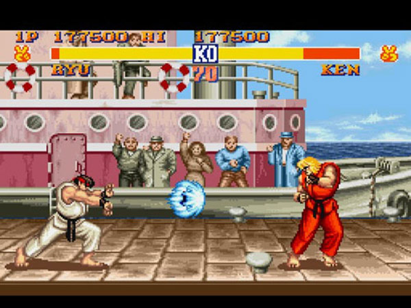street fighter ii gametap