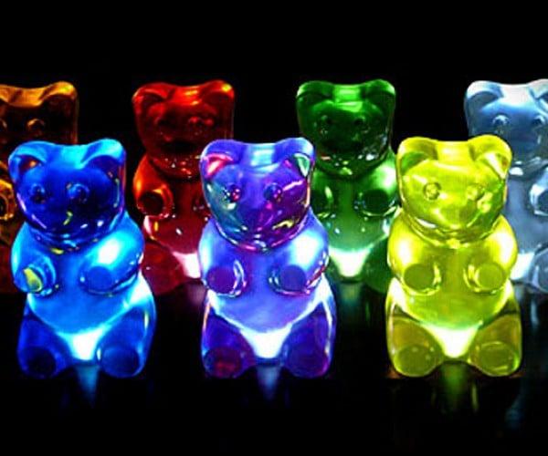 Gummi Bear Lamps Are Unfortunately Not Edible