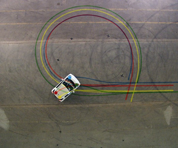 Carwriting: Designers Track Car'S Movements to Make Iq Font