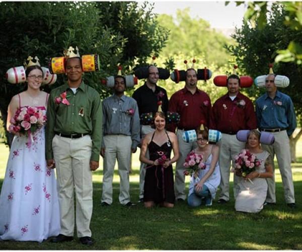 Katamari Wedding Might have Left Some Guests Baffled