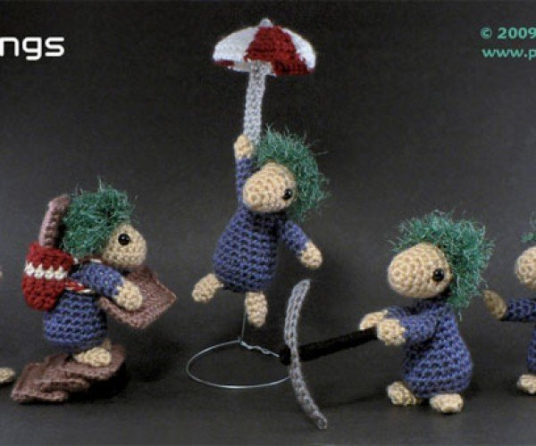 Lemmings Get Crocheted!