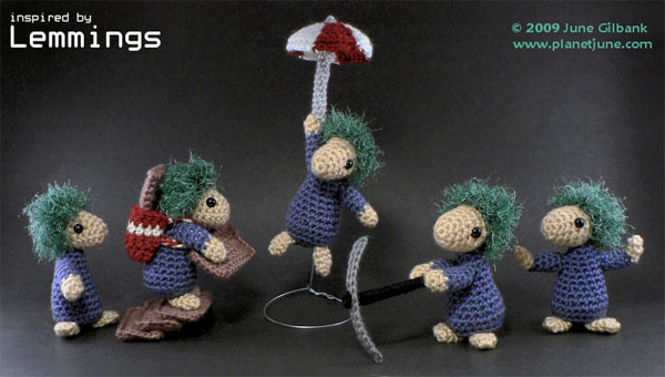 lemmings crochet 1