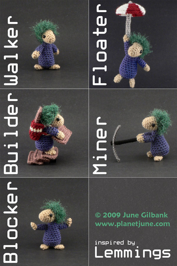 lemmings crochet 2