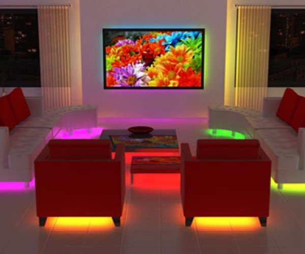 Lit Urban Underglow Leds Add Undercarriage Lighting to Your Furniture