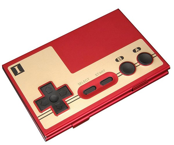 NES Controller Business Card Case Lets Your Business Partners Guess How Old You Are