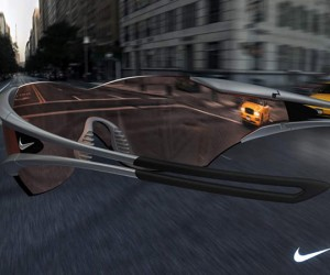 Nike Hindsight Cycling Glasses Concept Design Will Let Cyclists Know What Hit Them