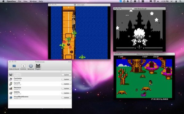 Game Boy Advance, NES and more. openemu-1. But unlike any emulator I