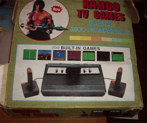 Rambo Tv Game: the Video Game Console That Time Forgot