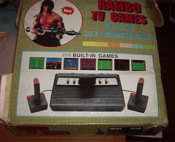 rambo tv game