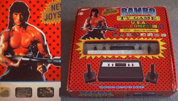 rambo tv game system 2