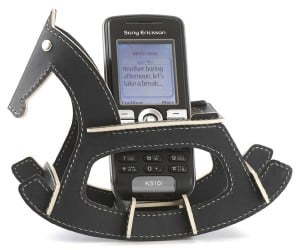 Rocking Horse Cell Phone Holder: Giddy Up and Answer That Call!