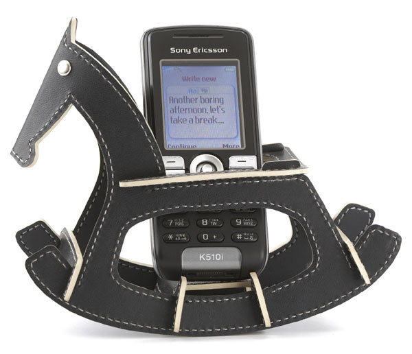 Rocking Horse Cell Phone Holder Giddy Up And Answer That