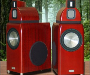 Salk Sound Ht4 Giant Bamboo Speakers: Bamboom