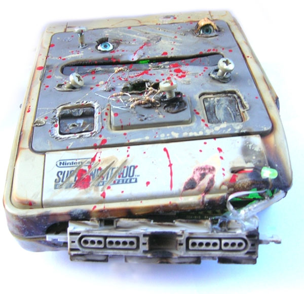 snes game over console mod