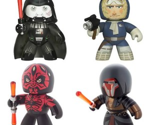 Star Wars Mighty Muggs Vinyl Figures: 3 Darths and a Solo