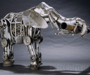 Glittering Mechanical Animals for Neo-Victorians