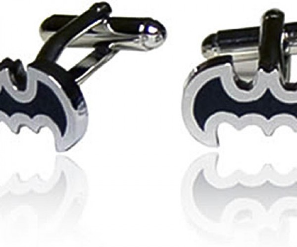 Batman Cufflinks for the Rich and Poor of Gotham