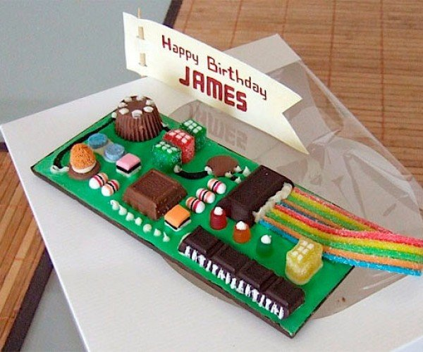 Connect to Your Sugar Craving With Circuit Board Candy