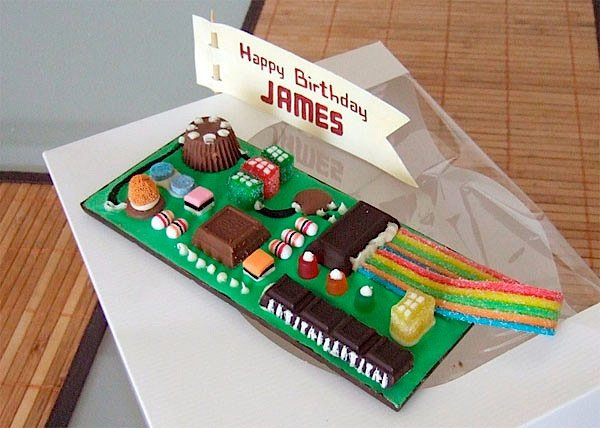 iphone circuit board candy