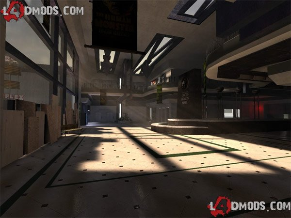 left 4 dead custom map mall dawn of the dead