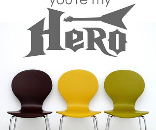 Guitar Hero Decals for Those Who Are Ready to Rock