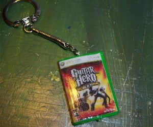 Guitar Hero Keychain, for Those Who Are Always Ready to Rock