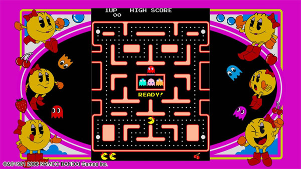 ms pac-man arcade game collector