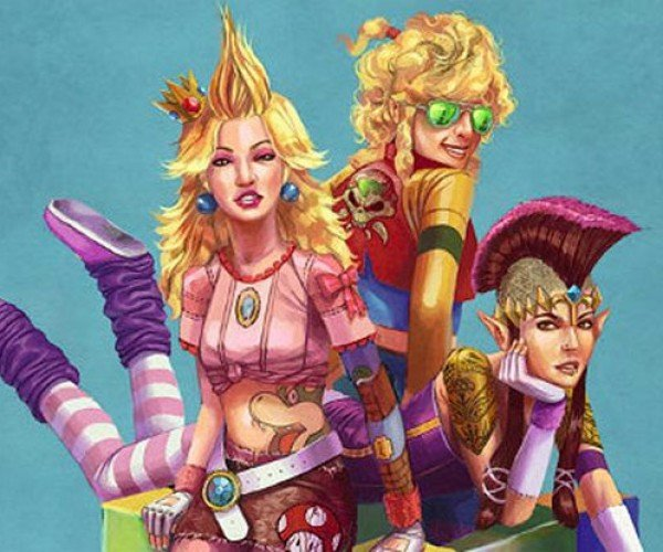 The Super-Badass Ladies of Nintendo