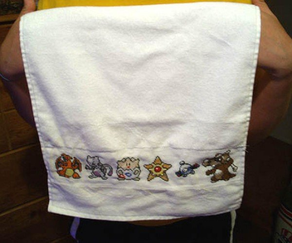 Pokemon Hand Towel: Gotta Fold 'Em All