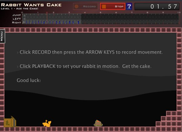 rabbit wants cake flash game
