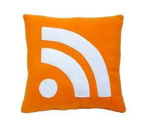 Subscribe to Comfort With RSS Pillows