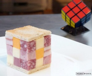 Better Than Bento? the Rubik's Cubewich