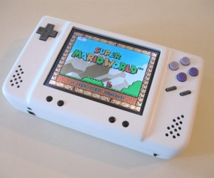 Sleek, Compact Portable SNES Mod