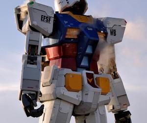 Gundam Statue in Tokyo: Because We Can Always Use More Gundam