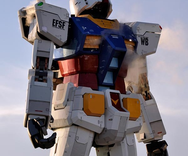 Gundam Statue in Tokyo: Because We Can Always Use More Gundam