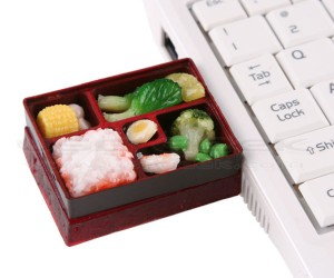 Mini Bento Box Flash Drive Offers Extreme Portion Control