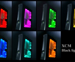 xcm black light case xbox 360 300x250
